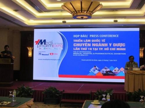 Vietnam Medi-pharm Expo 2019 đột phá về công nghệ