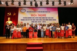 Công đoàn Cơ quan NHNN Trung ương tuyên dương các cháu học sinh đạt giải cao năm học 2018-2019