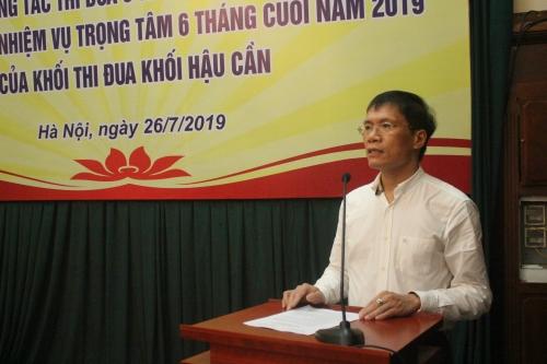 Khối hậu cần NHNN phấn đấu thực hiện tốt nhiệm vụ năm 2019