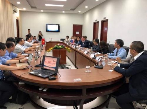 Doanh nghiệp Hoa Kỳ tìm kiếm cơ hội hợp tác đầu tư tại miền Trung
