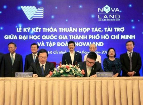 Novaland tài trợ 10 tỷ đồng cho Quỹ VNUF