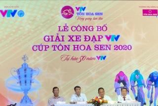 Sắp khởi tranh giải xe đạp VTV Cúp Tôn Hoa Sen 2020