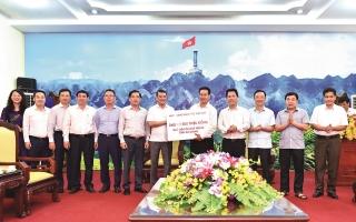Ngành Ngân hàng sẽ tiếp tục đồng hành cùng Hà Giang