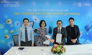 Vietnam Airlines ra mắt chương trình trả thưởng phi hàng không LotusMall