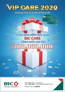 BIC triển khai chương trình tri ân VIP Care 2020