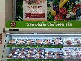 Tuần lễ thịt heo Mỹ tại hệ thống siêu thị BRGMart