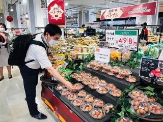 """Nông sản """"vượt chướng ngại vật"""" vào Nhật Bản"""