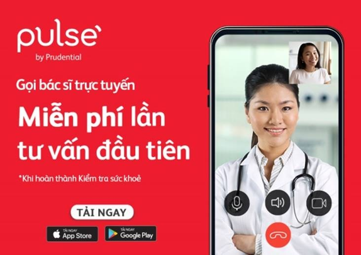 tu van suc khoe mien phi voi bac si truc tuyen tren ung dung pulse by prudential