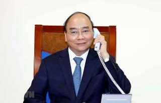 Thủ tướng Chính phủ điện đàm với Chủ tịch Ủy ban châu Âu