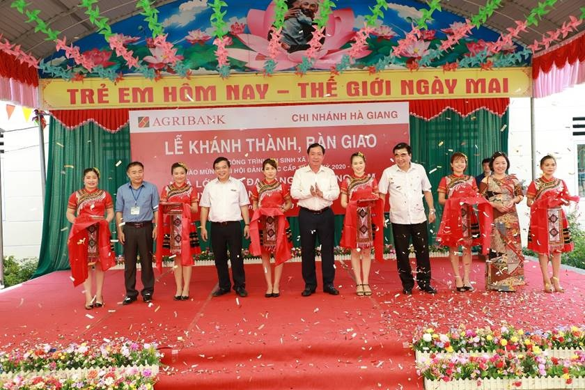 khanh thanh cac cong trinh chao mung dai hoi dang bo agribank lan thu x nhiem ky 2020 2025