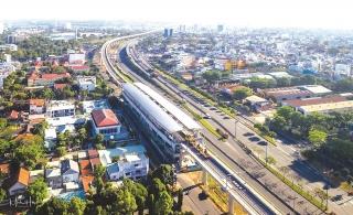 TP. Hồ Chí Minh: Đẩy nhanh tiến độ tuyến metro số 1