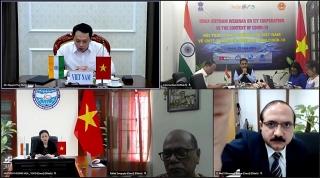 Tăng cường hợp tác công nghệ thông tin giữa Việt Nam và Ấn Độ