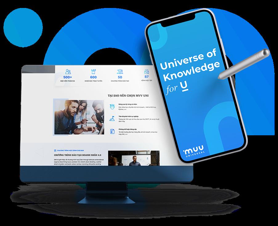 Học viện Doanh nhân MVV xây dựng nền tảng học tập trực tuyến đại chúng mở MVV Uni