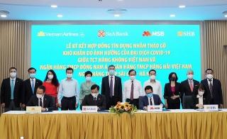 Vietnam Airlines ký kết hợp đồng tín dụng với 3 ngân hàng nhằm tháo gỡ khó khăn do dịch COVID-19