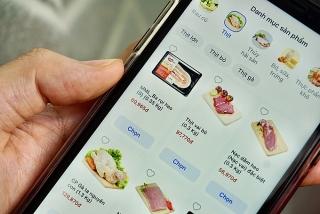 Đổ sang chợ online mua thực phẩm
