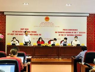 Kỳ họp thứ Nhất Quốc hội khóa XV sẽ khai mạc ngày 20/7