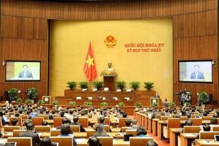 Kỳ họp thứ nhất, Quốc hội khoá XV: Tiền đề cho hoạt động cả nhiệm kỳ