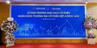445 triệu cổ phiếu của VietABank chính thức lên sàn UPCoM