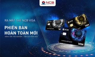 NCB ra mắt thẻ tín dụng quốc tế Visa không tiếp xúc