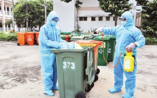 Xử lý rác thải y tế liên quan đến Covid-19