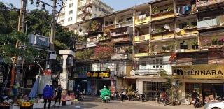 Hà Nội chi 500 tỷ đồng đánh giá chất lượng toàn bộ chung cư cũ