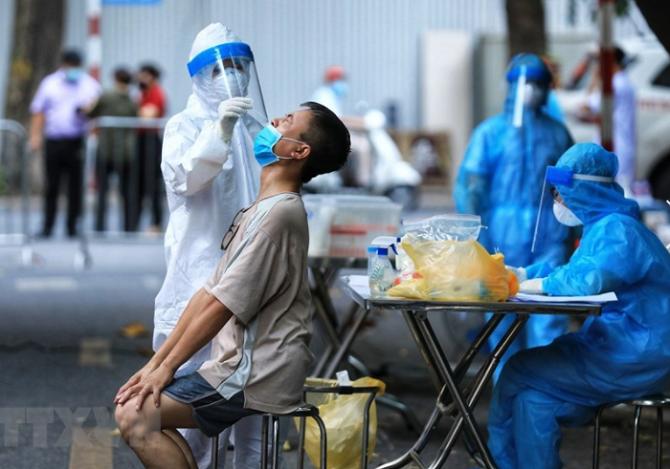 Trưa ngày 28/7, Hà Nội ghi nhận 35 trường hợp mắc mới
