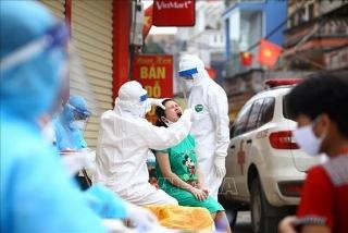 Chiều 28/7, Hà Nội có thêm 12 trường hợp dương tính với SARS-CoV-2
