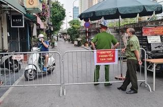 Hà Nội: Thiết lập vùng cách ly y tế toàn bộ phường Chương Dương trong 14 ngày