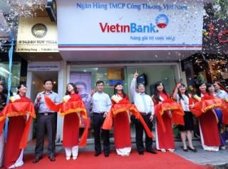 VietinBank khai trương Phòng giao dịch Hàng Trống