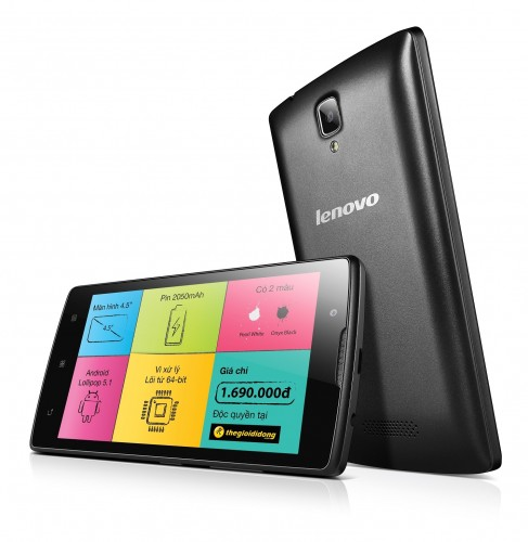 Smartphone Lenovo A2010 giá hấp dẫn dành cho sinh viên