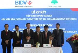 BIDV vay các ngân hàng nước ngoài 105 triệu USD