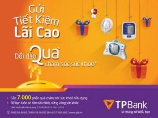 Chương trình gửi tiết kiệm lãi cao tại TPBank