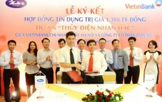 VietinBank dành 1.380 tỷ đồng cho Dự án thủy điện Nhạn Hạc