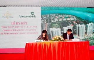 Vietcombank Nam Sài Gòn cấp bảo lãnh cho Công ty Phát triển Phú Mỹ Hưng