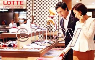 Ưu đãi hấp dẫn tại Lotte Department Store dành cho chủ thẻ VietinBank