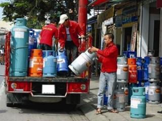 Giá gas giảm tiếp 4.500 đồng/bình 12 kg
