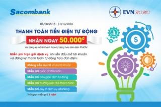 Sacombank ưu đãi khách hàng sử dụng dịch vụ ủy thác thanh toán
