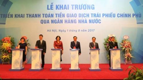 Từ 01/8/2017, NHNN sẽ đảm nhận chức năng thanh quyết toán cuối cùng tiền giao dịch TPCP