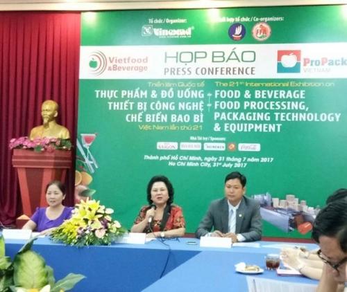 Sắp diễn ra triển lãm Vietfood & Beverage – ProPack