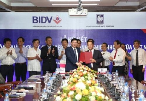 BIDV và VINASME ký kết thỏa thuận hợp tác toàn diện