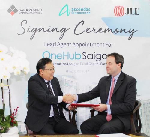 JLL độc quyền phân phối các dịch vụ dự án OneHub Saigon