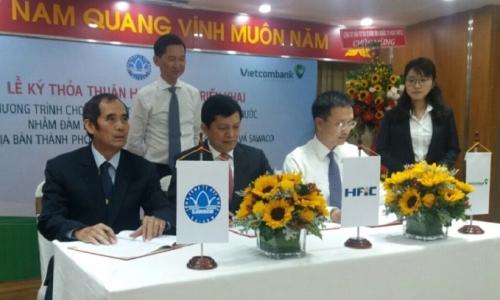 Vietcombank và HIFC cấp gói tín dụng trị giá 3.650 tỷ đồng cho dự án nước sạch