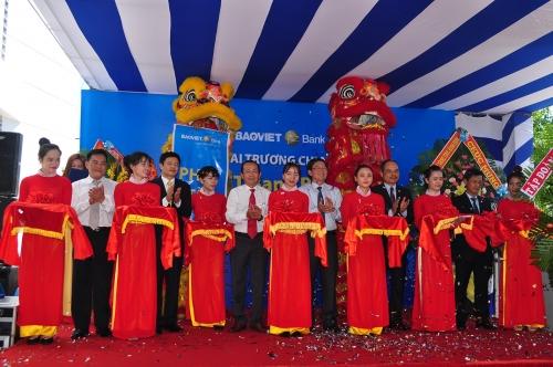 BAOVIET Bank khai trương chi nhánh Bình Định