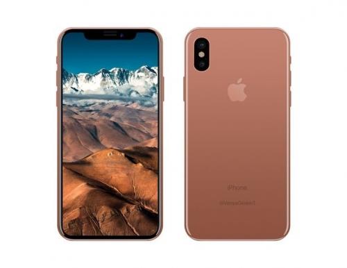 iPhone 8 sẽ có bản màu Blush Gold, thay thế cho màu vàng hồng