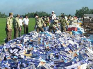 Thuốc lá lậu tràn ngập thị trường