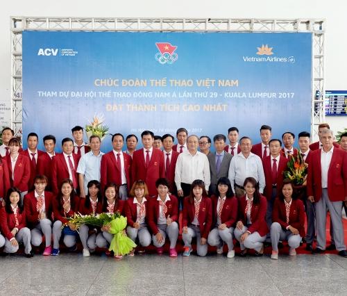 """Vietnam Airlines là """"Nhà vận chuyển chính thức"""" cho Đoàn thể thao Việt Nam tham dự SEA Games 29"""