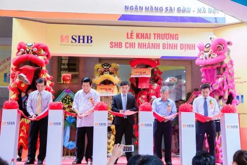 SHB khai trương chi nhánh mới tại Bình Định
