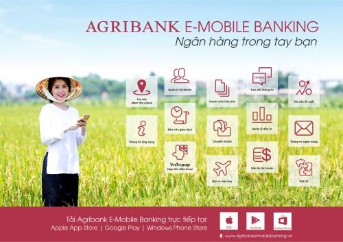 Agribank ưu đãi lớn cho khách hàng sử dụng dịch vụ Agribank E-Mobile Banking