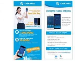 Eximbank ra mắt phiên bản Mobile Banking 2017 cùng nhiều ưu đãi hấp dẫn