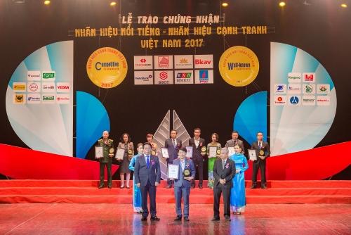SHB lọt Top 20 nhãn hiệu nổi tiếng Việt Nam 2017